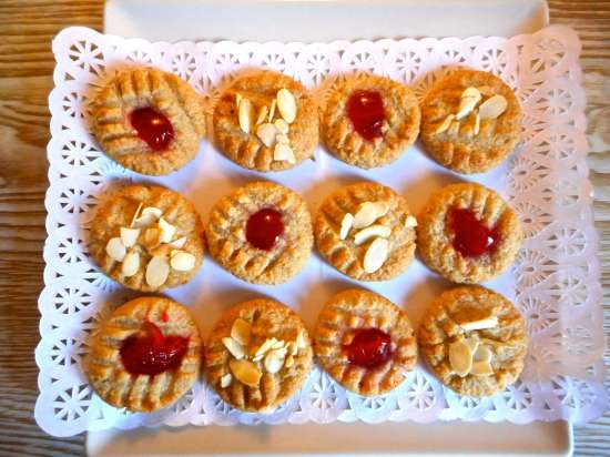 pastitas de almendras, galletas de almendras