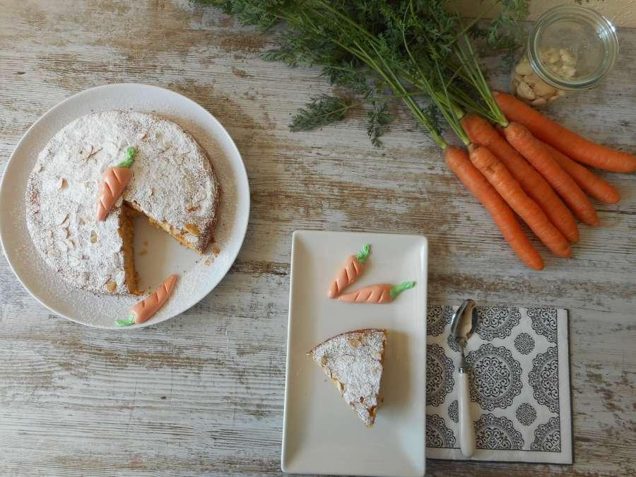 tarta, zanahoria