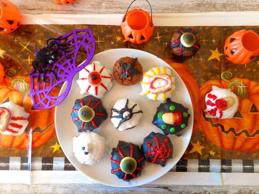 muffins halloween