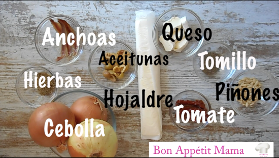 tartaletas provenzales ingredientes