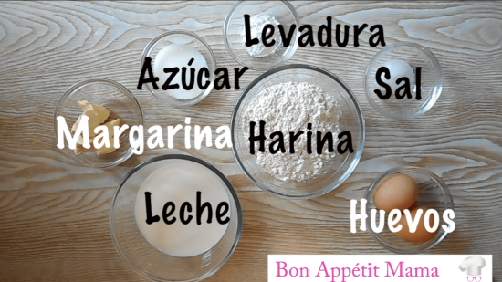 ingredientes, tortitas