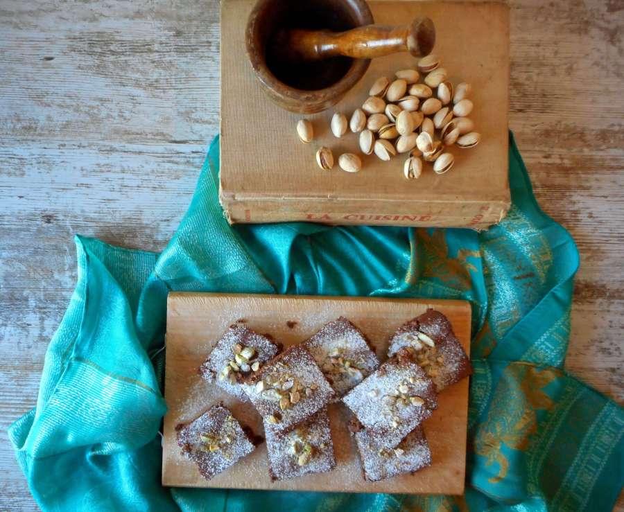 delicias de chocolate pistacho