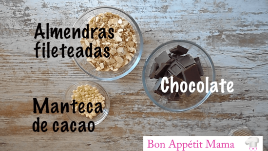 almendrados chocolate