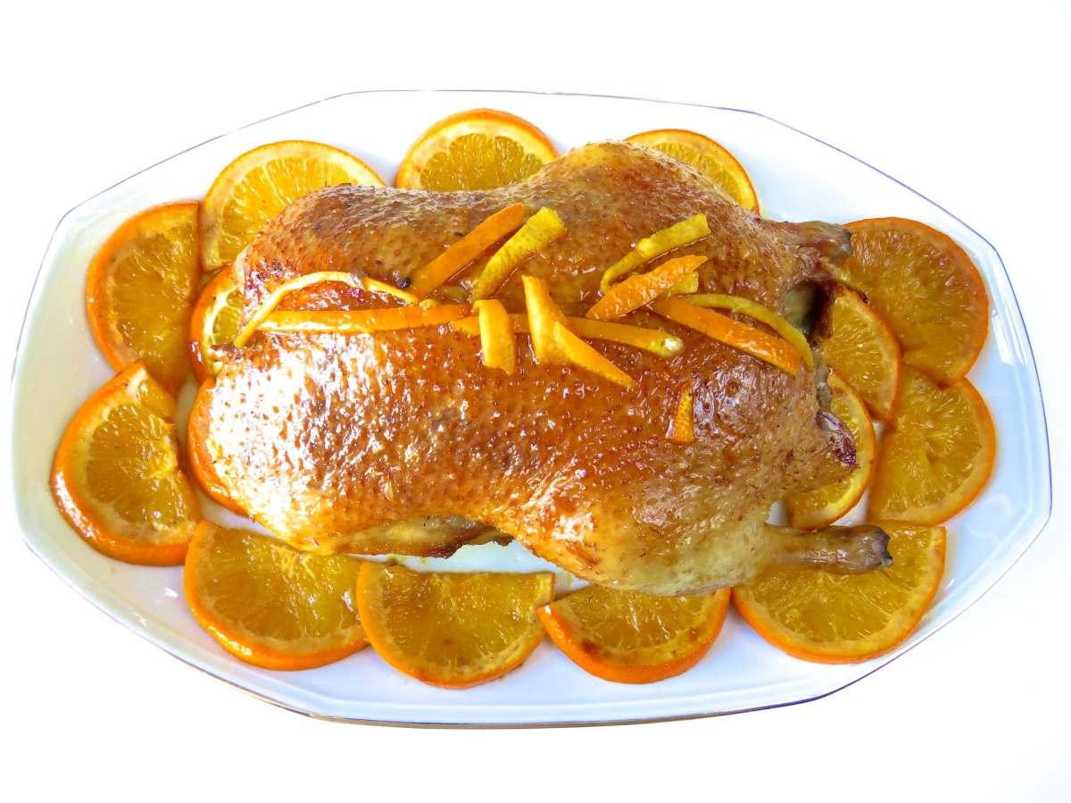 Pato a la naranja for Platos principales franceses