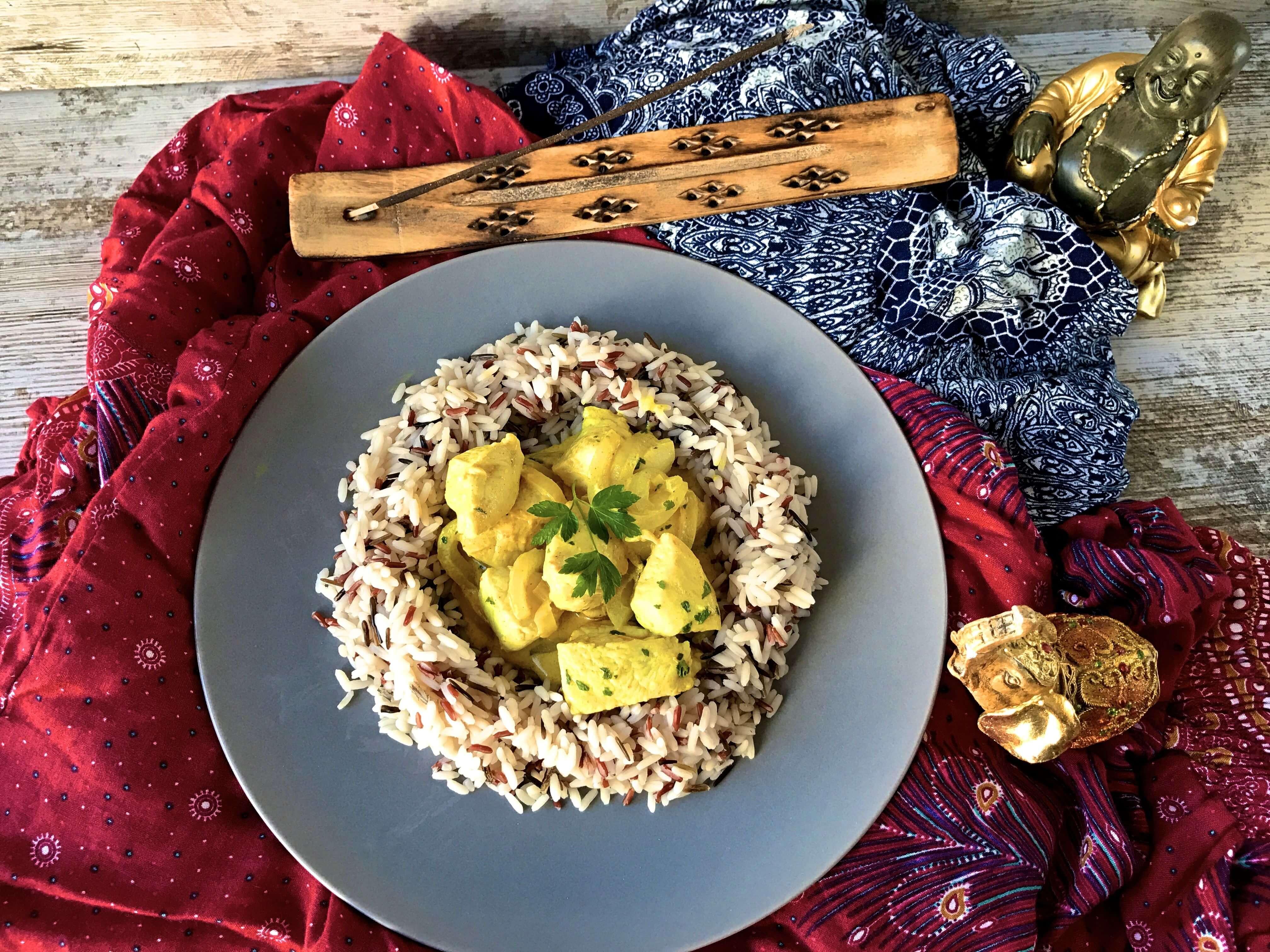 pavo curry