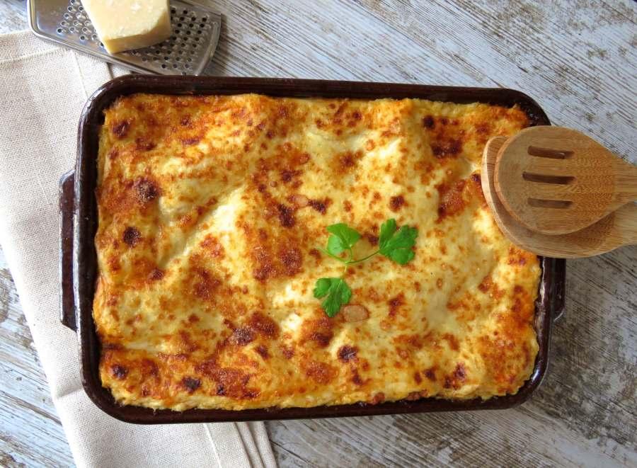 lasaña, lasagna