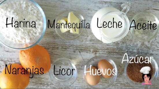 crepes suzette ingredientes