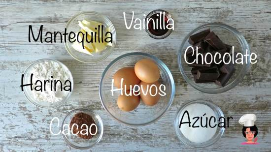 ingredientes COULANT CHOCOLATE