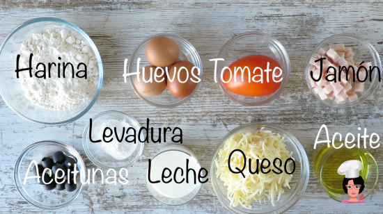 ingredientes muffins