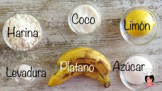 buñuelos platano y coco