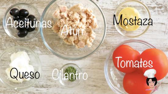 tartar de atun y tomate